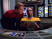 Quinn and Tuvok