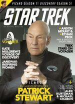 Star Trek Magazine issue 201 cover