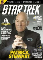 Star Trek Magazine issue 201 cover