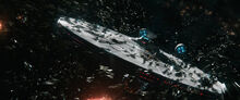USS Enterprise attacked by Swarm