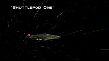 Shuttlepod One title card