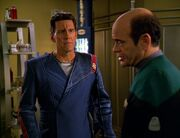 Der Doktor trifft auf den geheilten Ranek