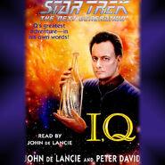 I, Q audiobook cover, digital edition