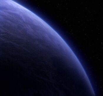 Jouret IV from orbit