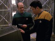Kim und der Doktor erstellen ein Hologramm