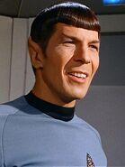 Kollos im Körper von Spock