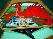 McCoy und Sulu machen ein Picknick