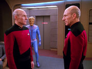 Picard alien replacement