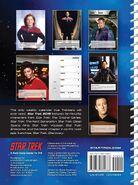 Star Trek Engagement Calendar 2019 back