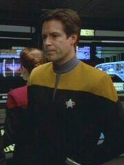 Sternenflottenoffizier Sicherheit USS Voyager 2373 Sternzeit 50731
