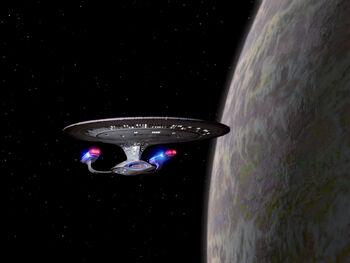Tagus III from orbit