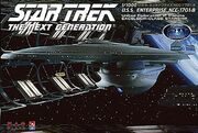AMT-Platz Model kit GDS8136 USS Enterprise-B 2010