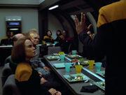 Feier im Kasino der Voyager