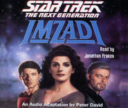 Imzadi audiobook cover, CD edition
