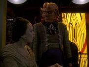 Quark ist beunruhigt wegen des Dominons