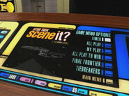 Star Trek Scene It menu