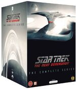 Star Trek The Next Generation - The Complete Series Region 2 DVD box