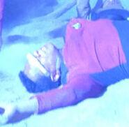 Stunt double LeVar Burton, The Last Outpost