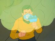 Sulu spraying weed spray