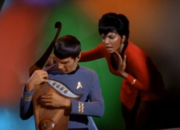 Uhura loses her singing voice