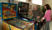 Westmore with pinball machines