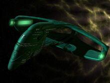 Ромуланский корабль класса WarBird