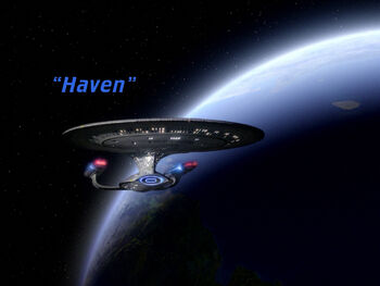 Haven title card