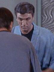 Brückentechniker Enterprise 2267 Mission Hüter der Ewigkeit