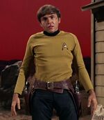 Chekov as William Claiborne