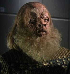 Gral, a Tellarite male (2154)