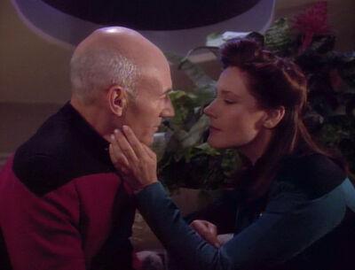 Jean-Luc Picard und Nella Daren