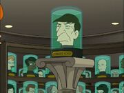 Leonard Nimoy in Futurama pilot