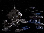 Operation Rückkehr Flottenverband bei Sternenbasis 375