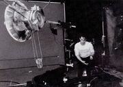 Pioneer 10 studio model filmed