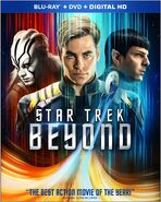 Star Trek Beyond Blu-ray Region A cover