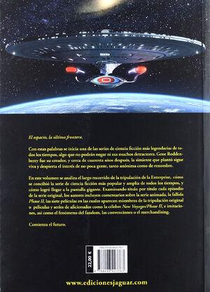 Star Trek La ultima frontera contraportada