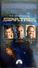 Star Trek The Beginnings VHS
