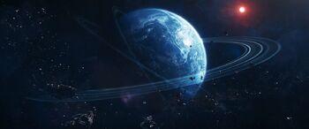 Terralysium from orbit