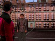 Tomalak in romulanischen holografischen Umgebungsimulator