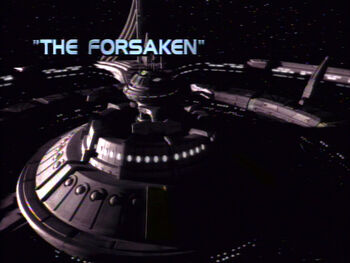 The Forsaken title card