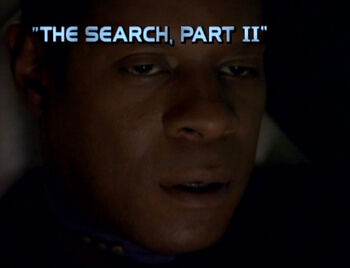 The Search, Part II title card