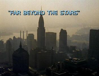 Far Beyond the Stars title card