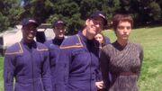 Außenteam auf Archer IV