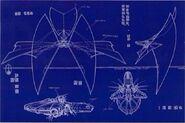 Bajoran lightship blueprint