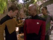 Benjamin Sisko lässt sein Blut undersuchen