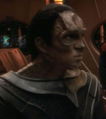 ... as a Cardassian soldier