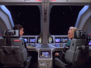 Dax and Melora discuss romance in Starfleet