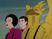 Grey, McCoy, and Aleek-Om