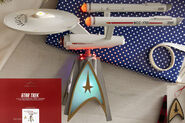 Hallmark 2020 USS Enterprise Tree Topper