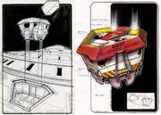 Sovereign type escape pod design by John Eaves